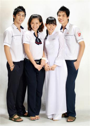 Đồng phục học sinh Cấp 3 DPHS13